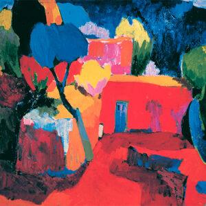 """""""Ջաջուռ"""", 1960թ․, կտավ, յուղաներկ, 75x100 սմ"""